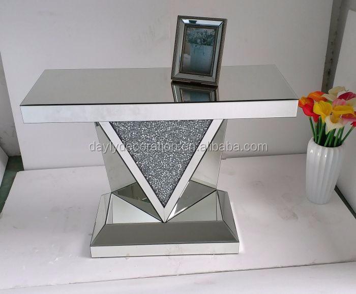 Diamante Aplastar Mesa Auxiliar De V Marco Mesa De Café,Mesa De ...