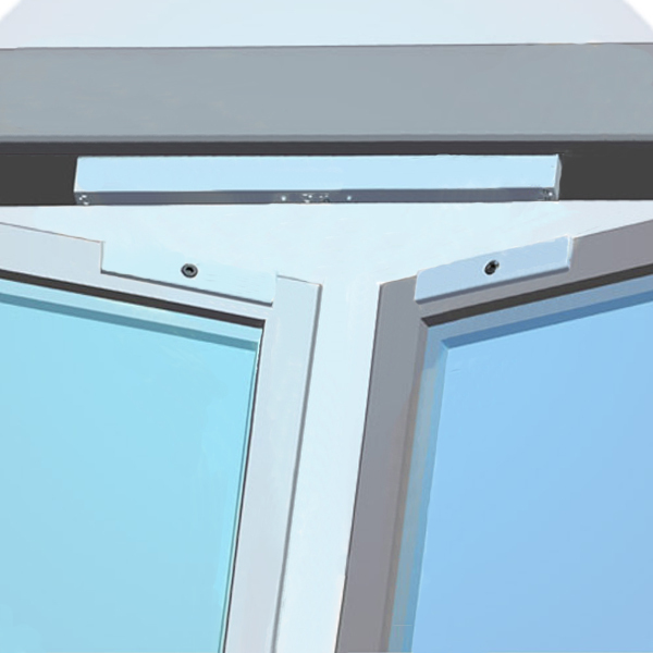 280kg Double Door Electric Magnetic Lock For Glass Door Vt 280d