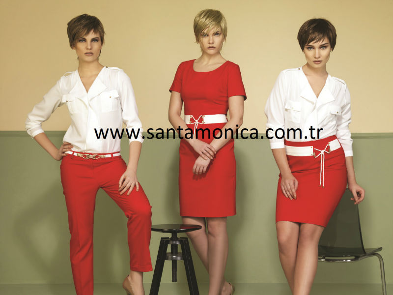 italian desing first class women dresses, 2500 model per year production capacity of women's clothing
