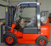 top specification new designed 3ton petrol/LPG forklift truck for South America