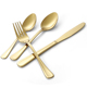 2018 western royal spoons forks knives gold stainless steel cutlery flatware set manufacturers