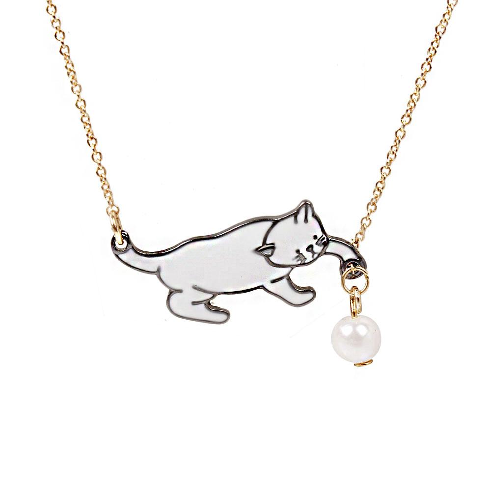 16b40c43625e Venta al por mayor pet collares perlas-Compre online los mejores pet ...