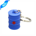 Cheap Soft PVC rubber custom keychain with logo