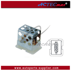 OE#A168-820-02-97/539-9046-180 Heater Blower Resistor For MB Mercedes Blower Regulator