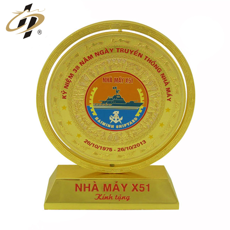 Wholesale free sample custom design name logo gold plate engraving souvenir plates trophy