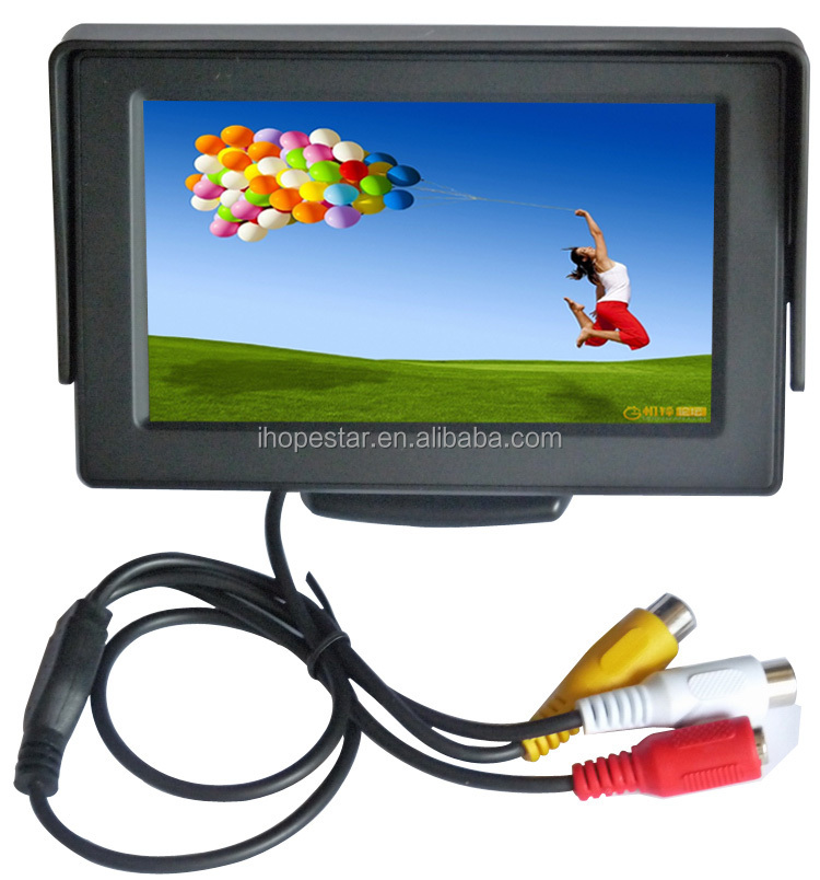 4.3 inch Audio Video Security Tester CCTV Camera