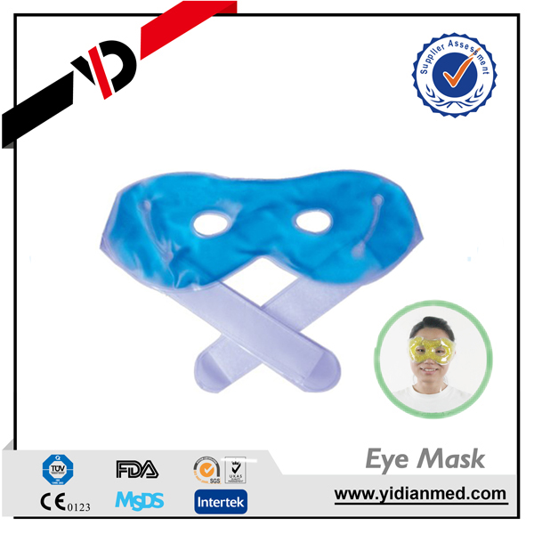 steam hot eye mask, reusable freezer gel cooling eye pad, kao eye mask