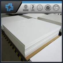 square shaped ptfe sheet teflon plastic molding board