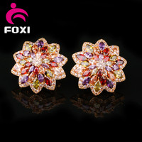 hot sale best quality luxury colorful earring for party