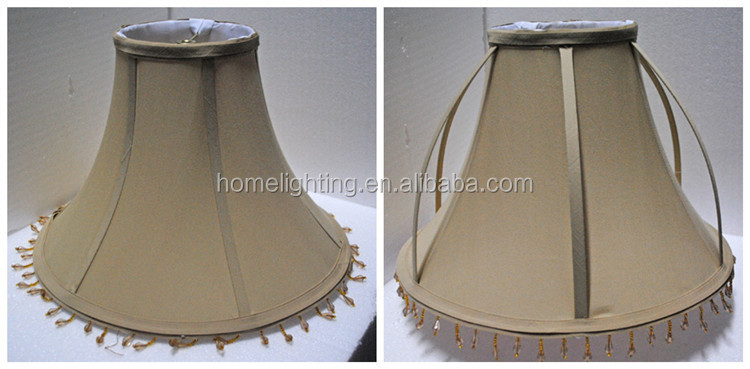 Skd-165 Beaded Fabric Chinese Style Collapsible Lamp Shade - Buy ...
