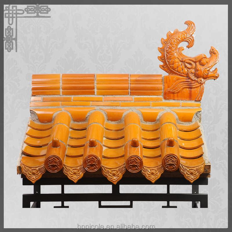 dachziegel f r chinesische dach in klassischen gartenhaus. Black Bedroom Furniture Sets. Home Design Ideas