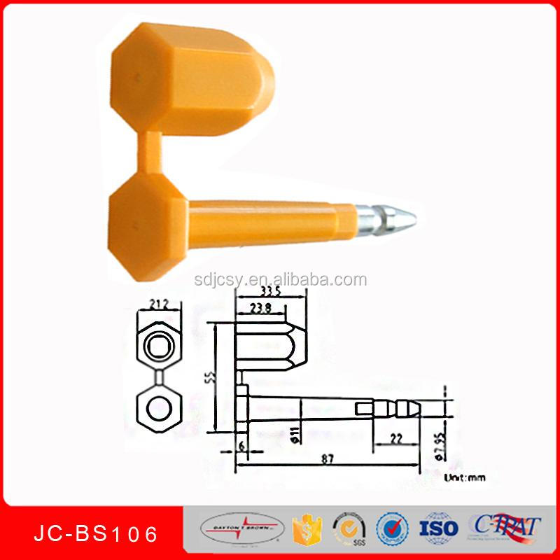 New product bolt seal easy locking ocean carriers JCBS106