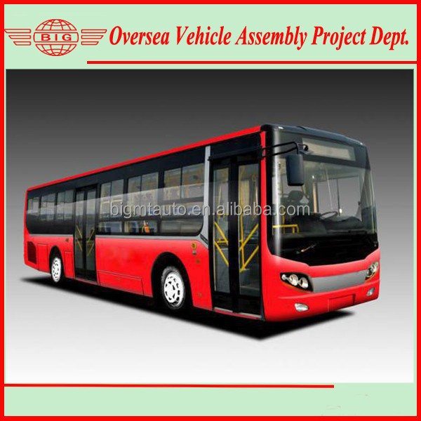 6122NG4 Low Floor CNG City Buses CNG Vehicles for Sale