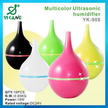 Yk 908 800ml 6 7hrs Vase Shape Tabletop Ultrasonic Air Humidifier