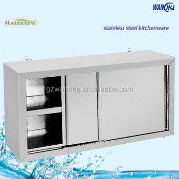 Stainless Steel Storage Cabinet Kitchen Wall Hanging Cabinet
