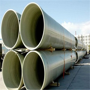 Anti-corrosion Lightweight FRP Fiber Glass Irrigation High Pressure Water Pipe