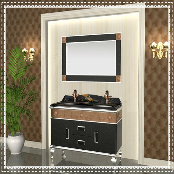 Hotel moderno pavimento in acciaio inox armadietti da bagno vanit armadietto id prodotto - Armadietti da bagno ...
