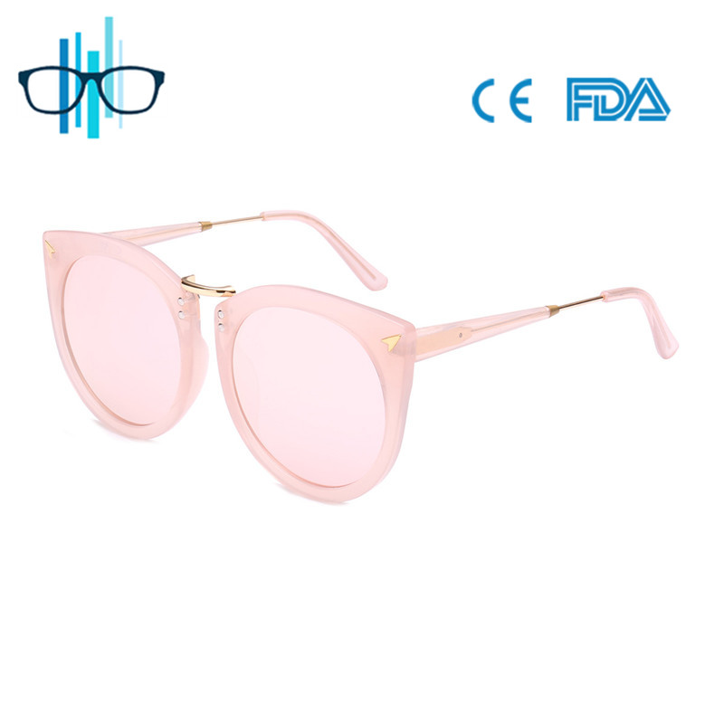 2017 Wholesale factory dropship cat eye sunglasses for women