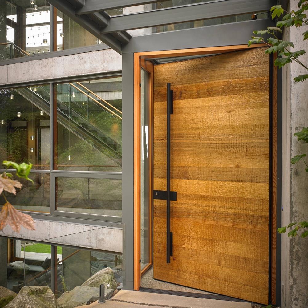 Contemporary Apartment Front Door Main Entrance Door Design - Buy Wooden  Main Door Design,Main Door Designs Double Door,Front Double Door Designs ...
