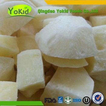 Export Chinese Frozen Peeled Diced Potatoes