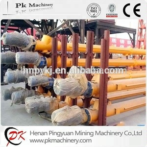 Material Handling Equipment Sand / Cement Spiral Screw Conveyor Conveying System