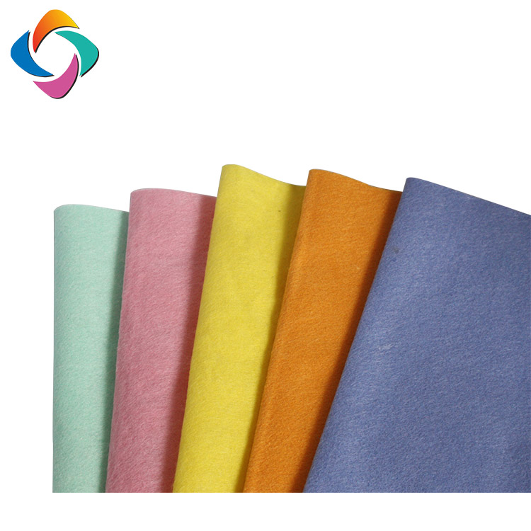 Household Softness And Comfort Needle Punched Germany Non woven Floor Finish Cleaning Cloth