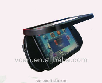 rear view mirror reverse camera with navigation vcan0578
