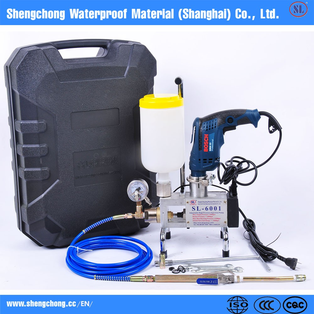 Polyurethane grouting machine comb construction crack sealing pump