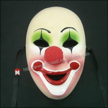 Sıcak Satış Palyaço Suç Prensi Sert Plastik Palyaço Maskesi