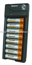 fast charger for AA rechargeable battery