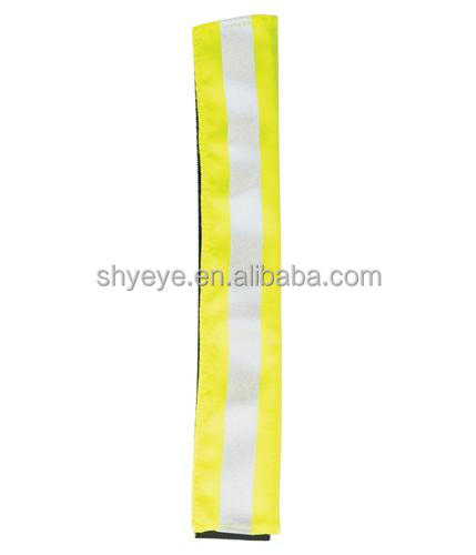 Lime Green Reflective Arm Band