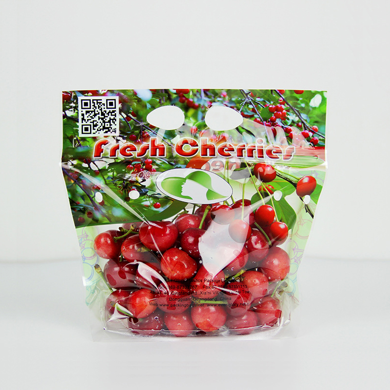food grade transparent fruit packaging anti-fog vegetable plastic bag