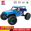 Children toys 2.4G high speed rc car 1/10 rc buggy blue rc car 35km/h SJY-10428-A