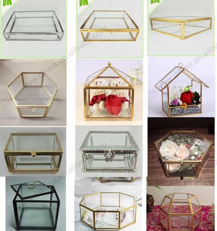 Pyramid Display Box Small Glass Pyramid Jewelry Box Hinged