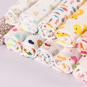 organic breathable 100% cotton printed organic cotton fabric factory