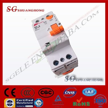 AEG rccb elcb residual current circuit breaker