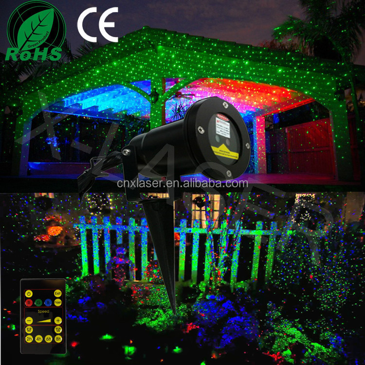 Holiday Time Christmas Lights,Outdoor Laser Lights For Trees,Night ...