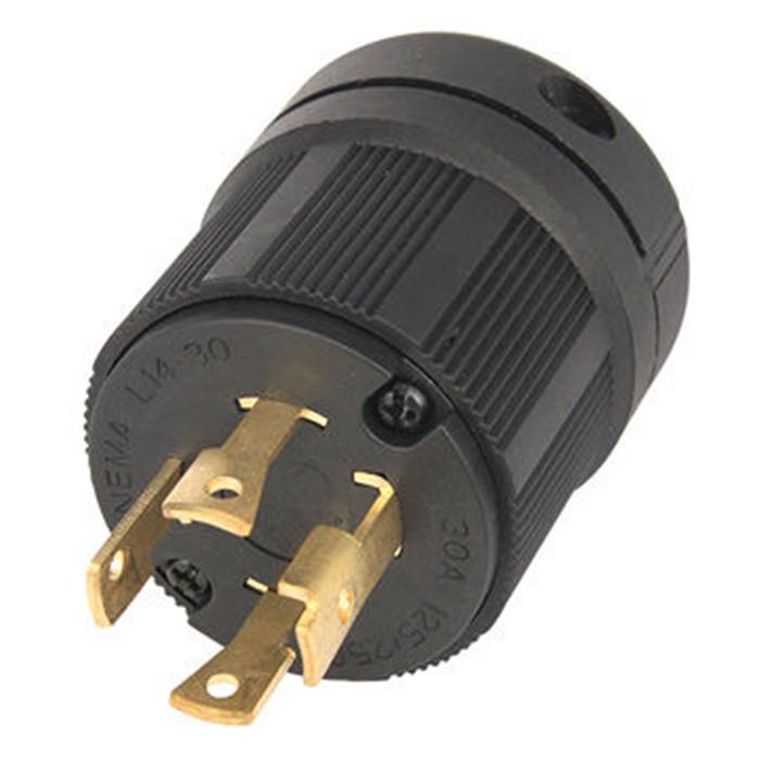 30A L14-30R Twist Locking 4-Wire Electrical Female Plug Connector Receptacle  gf