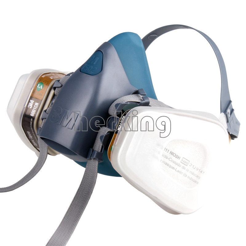 N95 7502 7 шт. костюм респиратор картина опрыскивание анфас противогаз бесплатная доставка