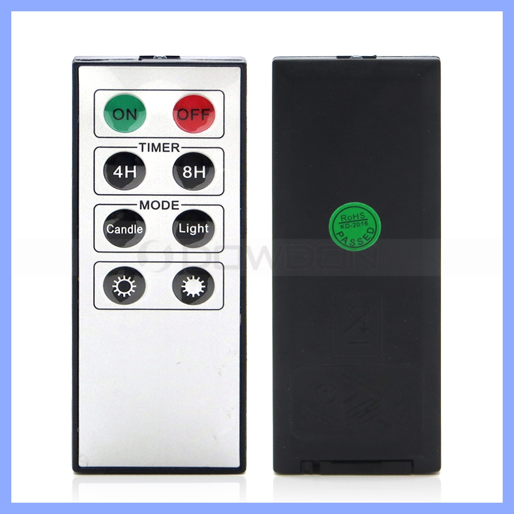IR Transmittion 8 Keys Infrared Electric Digital Remote Control For Candle Light Remote
