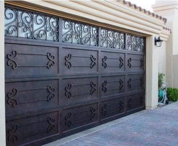 Exterior Wrought Iron Garage Doors