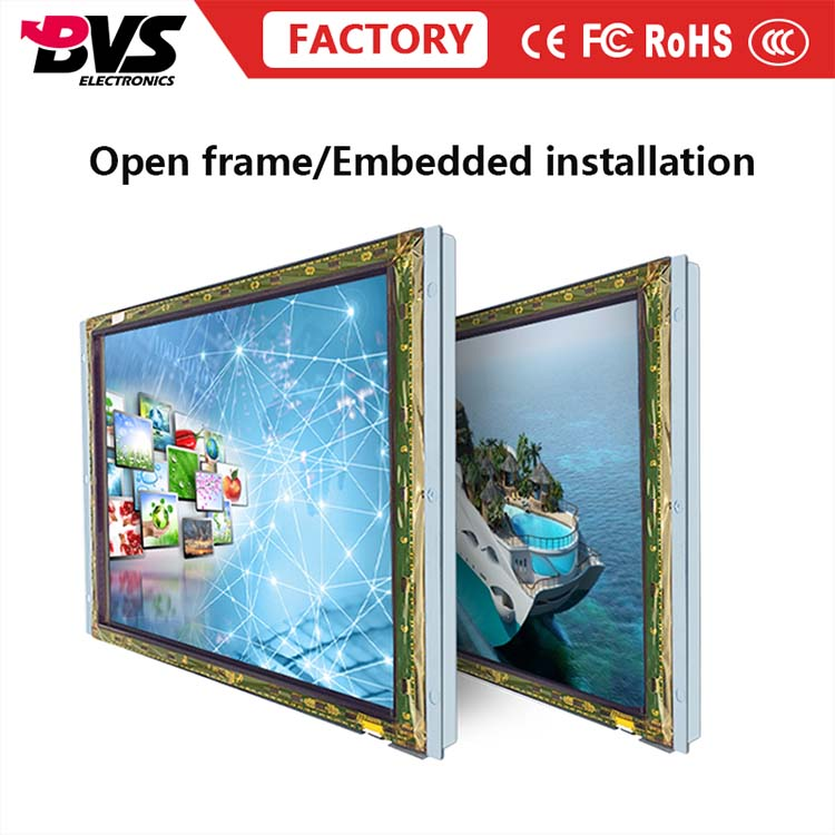 Factory Supply High Quality 19 Inch Metal Shell Open Frame Touch Screen <strong>Monitor</strong>