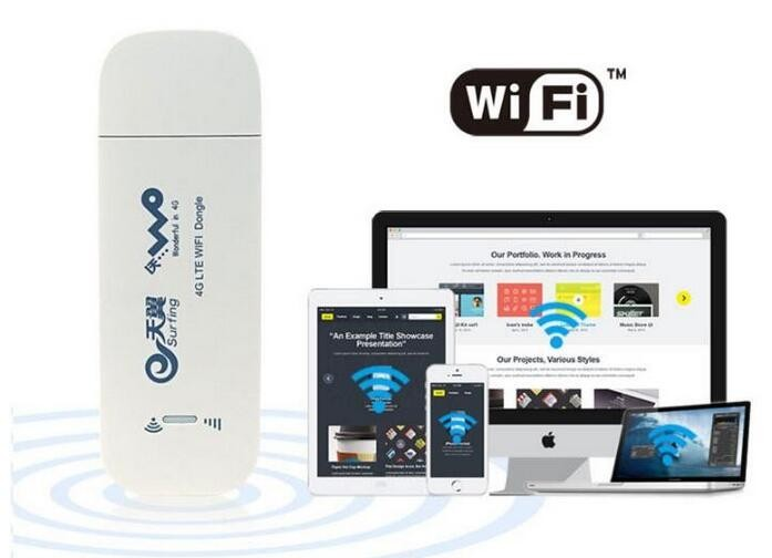150Mbps portable 4g lte usb modem 4g wifi dongle