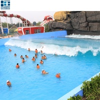 Most Popular Outdoor Water Park Projects Equipment Water Surf Wave Pool