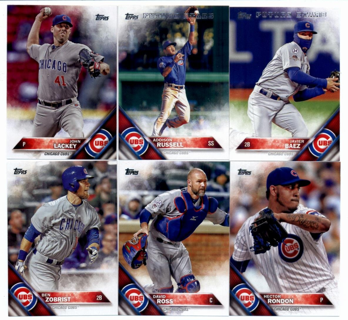 Buy 2016 Topps Series 2 Baseball Chicago Cubs Team Set Of 11 Cards