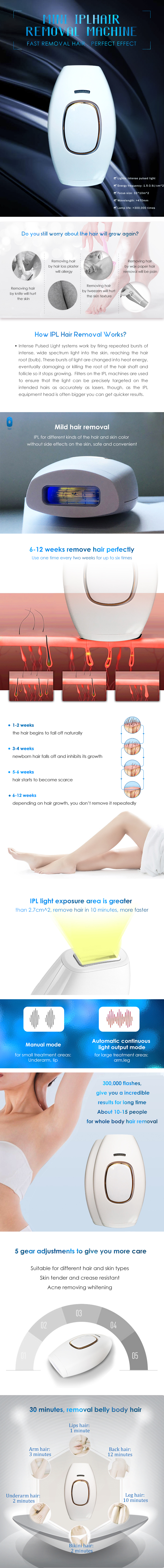 Anybeauty 2020 uso domestico ipl rimozione dei capelli del laser, attrezzature di bellezza permanente del corpo lazer di rimozione dei capelli/rimozione dei capelli di ipl