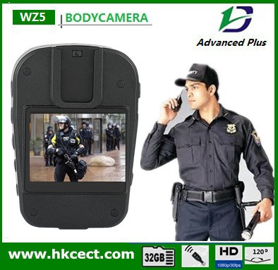 Body worn camera security guard law enforcement officer encryted software optional body worn police camera