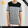 Custom high quality plain round neck short sleeves men cotton t-shirt