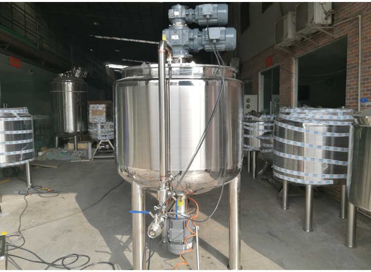 Hand wash liquid soap making machine/stirrer mixing tank /cosmetic cream making machine