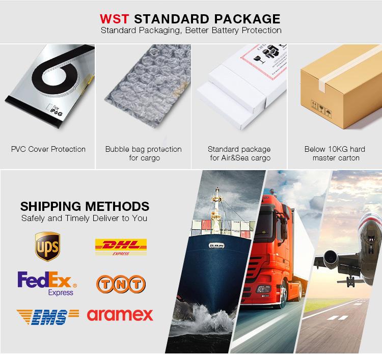 WST thương hiệu 3.8 V 3000 mah gốc thay thế pin điện thoại di động đối với Huawei G9/P9/Bạn Đời 8